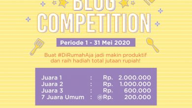 Photo of Blog Competition Yummy x Popmama 2020