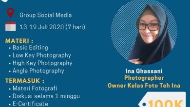 Photo of PHOTOGRAPHY CLASS ONLINE IPB