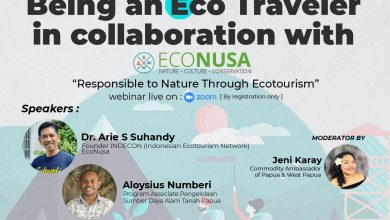 "Photo of Webinar: ""Being an Eco Traveler"""