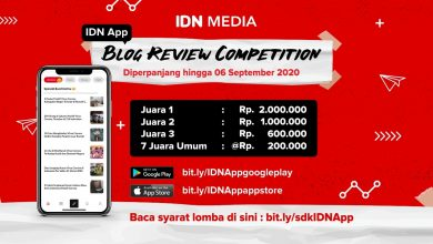 Photo of Blog Review Competition