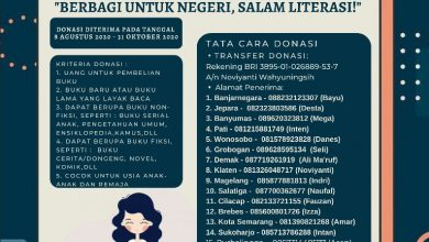 Photo of Open Donasi Buku