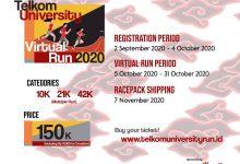 Photo of Telkom University Run 2020