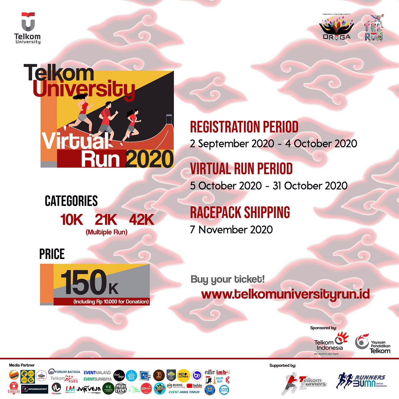 Telkom University Virtual Run - EVENTAPAAJA