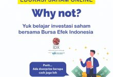 Photo of Edukasi Saham Online